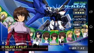 Kidou Senshi Gundam Seed - Rengou vs. Z.A.F.T ISO (Japan) PPSSPP
