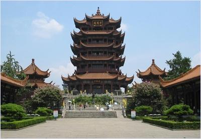 หวงเฮ่อโหลว (Huang He Lou) / หอกระเรียนเหลือง (Yellow Crane Tower)