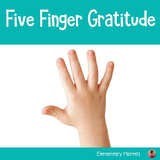 Did you know that being grateful helps a person be happy? Did you know it works for children, too. This post shares a couple of ways to show gratitude, and includes a freebie!