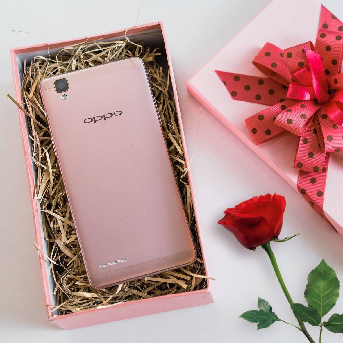 OPPO F1 Rose-Gold