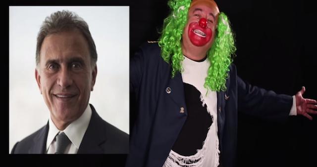 """""""No mam@n"""", dice """"Brozo"""" sobre la propuesta de postular a Miguel Ángel Yunes a la Presidencia"""