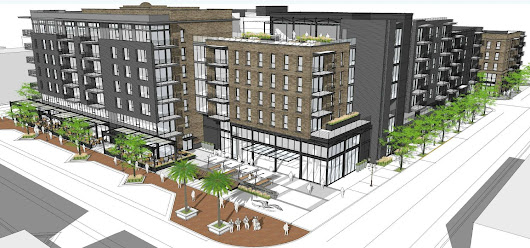 Mixed Use Development Proposed at First American Title Co Site in Downtown Santa Ana