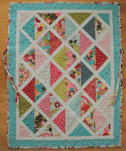 Sophie Car Seat Quilt for kids, Designed by Jennie Pickett of Clover & Violet