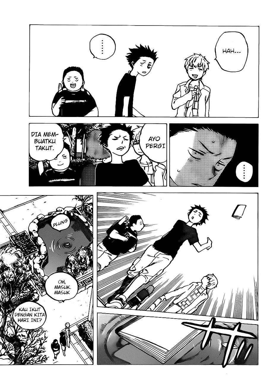 Koe no Katachi Chapter 03-3