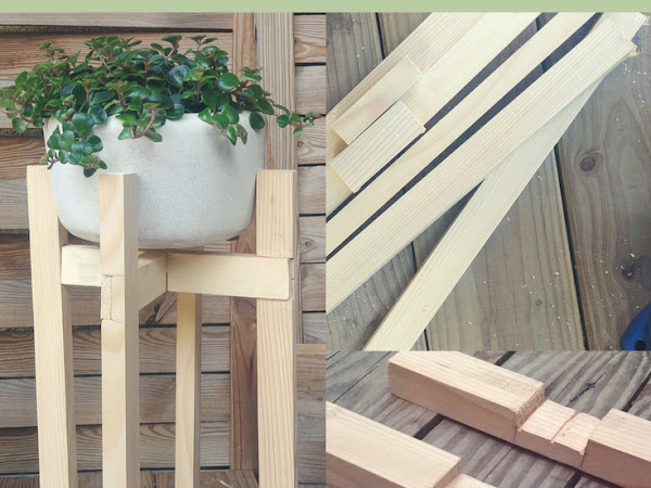 #Tuto : Un Support de Plantes Boho en bois
