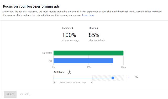 Ad Balance Google Adsense