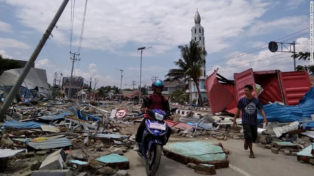 Video: Tsunami y terremoto en Indonesia