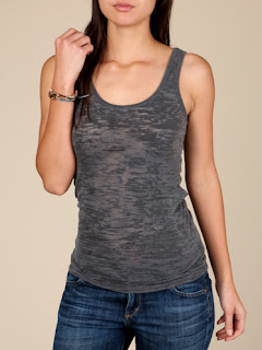 Alternative Apparel burn out tank top