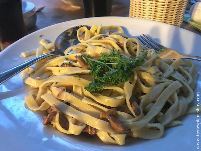 Viaje Italia comer Dolomitas pasta