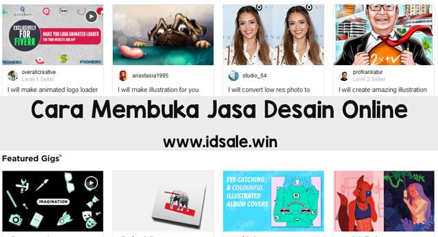 Cara Membuka Jasa Desain Online di Internet Beserta Situsnya.