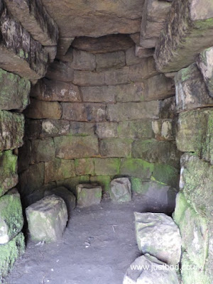 Cave / Tomb, Druid's Temple, Ilton, Yorkshire