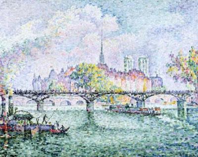 Paris, Vue au Ile de la Cité. - Paul Signac
