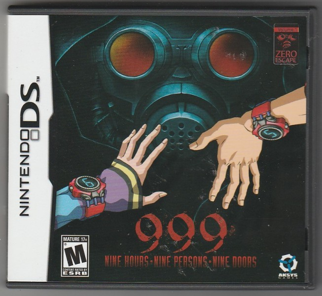 Nine Hours Nine Persons Nine Doors is a puzzle visual novel (or point and click adventure) released for the Nintendo DS (and finally ported to PlayStation ... & ChCseu0027s blog: Nine Hours Nine Persons Nine Doors (DS)