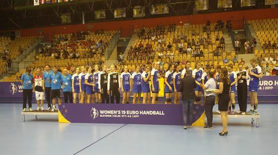 Rusia en Euro Junior Femenino 2017
