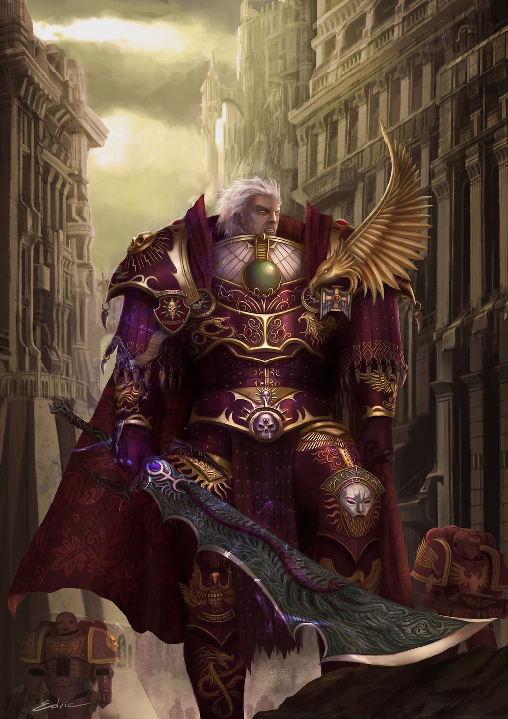 30kplus40k  horus heresy review  emperor u0026 39 s children - the phoenician