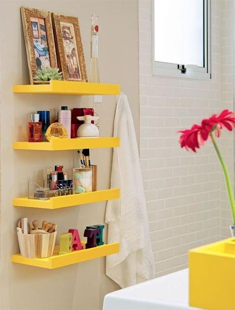 أفكار للحمامات الصغيرة - Small Bathroom Ideas