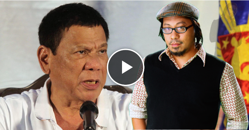 Duterte disrespect by Lourd De Veyra