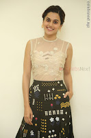 Taapsee Pannu in transparent top at Anando hma theatrical trailer launch ~  Exclusive 010.JPG