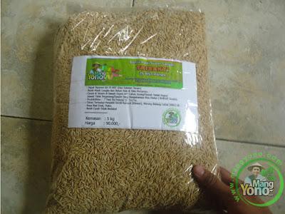 Adjie Pamungkas Brebes, Jateng   Pembeli Benih Padi TRISAKTI 75 HST Panen   sebanyak 5 Kg atau 1 Bungkus