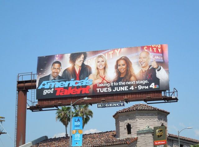 Americas Got Talent season 8 billboard