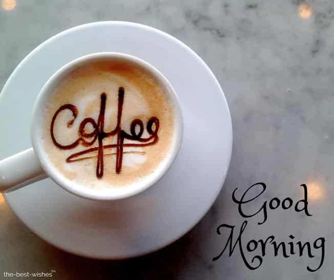 gud mrng coffee images