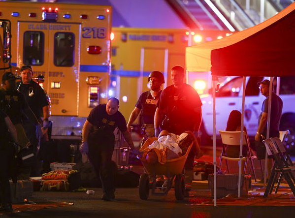 Death toll at Las Vegas concert shooting rises to 50 with over 200 people injured..suspect was a 64yr old man