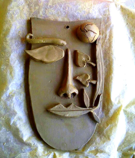 Abstract Clay Art
