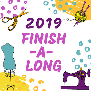 2019 Finish-A-Long Logo
