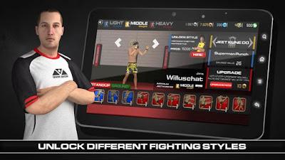 MMA Fighting Clash MOD APK (Unlimited Money) v1.16 Offline