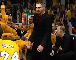 NBA 2K13 Coach Mike D'Antoni Roster Patch