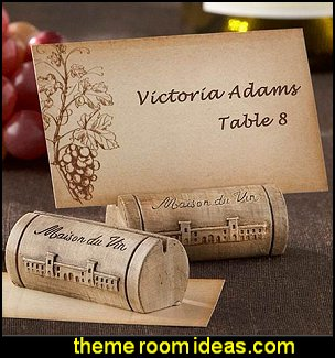 Maison du Vin Wine Cork Place Card Holder