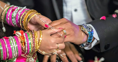 Wedding Diaries - Ring Ceremony, Indian wedding