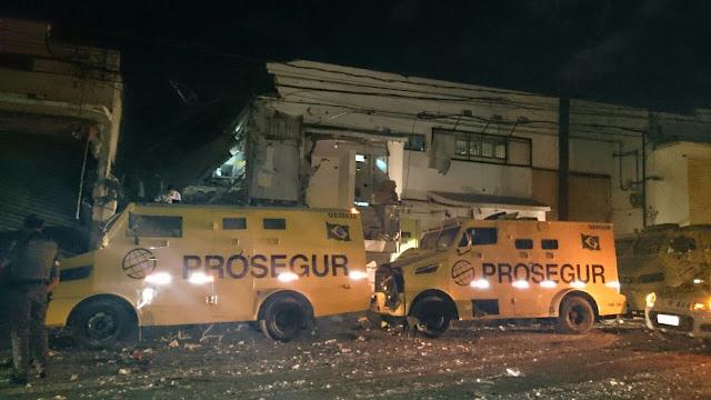 Assalto a empresa de valores termina em 'cena de guerra' e PM morto em Ribeirão Preto
