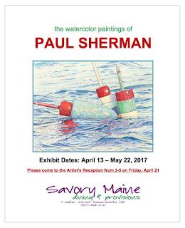 Watercolor Paintings of Paul Sherman