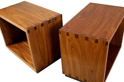 hộp làm bằng gỗ óc chó
