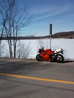 Ducati 916 Winter Ride