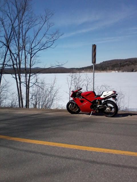 Ducati 916 Winter