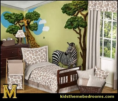 Jungle Baby Room Safari Theme Zoo Animals