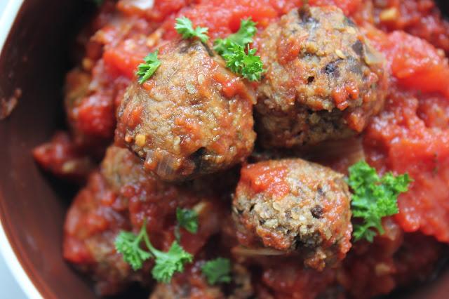 aubergine balletjes vegetarisch vleesvervanger