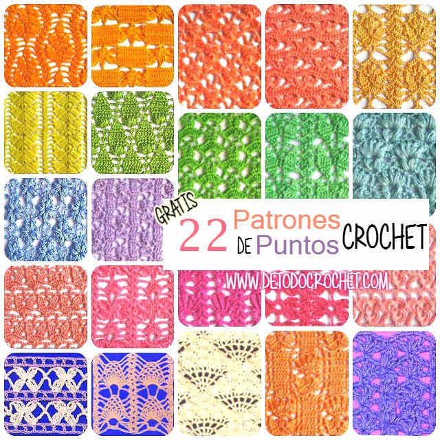 patrones de puntos crochet coleccion