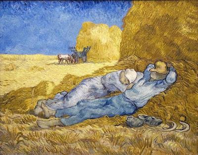 Van Gogh, La Méridienne  1889/1890