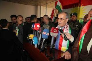 """محافظ كركوك المطرود الخائن """"نجم الدين"""" يرفض قرار الاقالة !"""