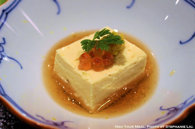 Yuba Tofu with Dashi and Soy Sauce at Tempura Endo Yasaka