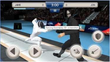 Game Olahraga Anggar Android Fencing Swordplay 3D Mod Apk