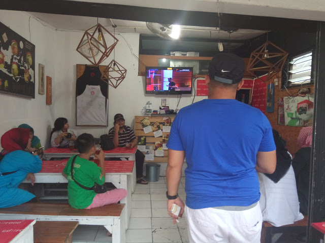 Suasana nobar master chef Indonesia