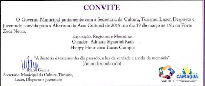 19 DE MARÇO DE 2019