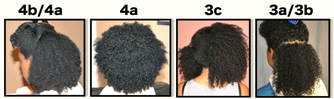 Image result for different afro hair textures