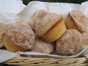 Madalenas-donut