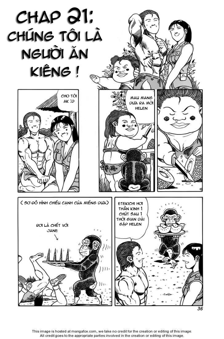 Chúa rừng Ta-chan chapter 21 trang 3