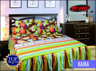 sprei rumbai my love kaira